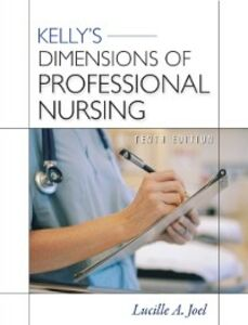 Ebook in inglese Kelly's Dimensions of Professional Nursing, Tenth Edition Joel, Lucille