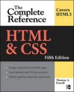 Ebook in inglese HTML & CSS: The Complete Reference, Fifth Edition Powell, Thomas