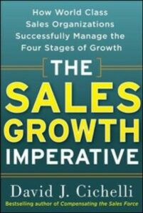 Ebook in inglese Sales Growth Imperative: How World Class Sales Organizations Successfully Manage the Four Stages of Growth Cichelli, David J.