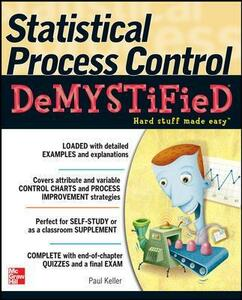 Statistical Process Control Demystified - Paul A. Keller - cover