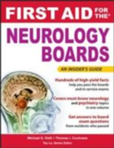 Ebook in inglese First Aid for the Neurology Boards Cochrane, Thomas , Rafii, Michael