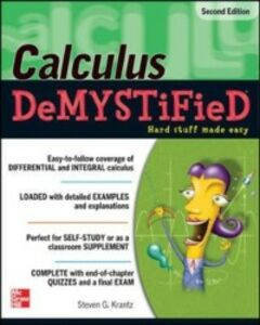 Ebook in inglese Calculus DeMYSTiFieD, Second Edition Krantz, Steven
