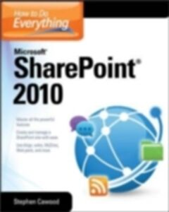 Ebook in inglese How to Do Everything Microsoft SharePoint 2010 Cawood, Stephen