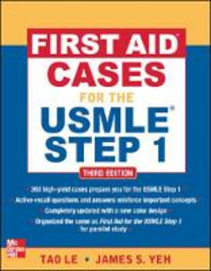 Libro First aid cases for the USMLE step 1 Le Tao