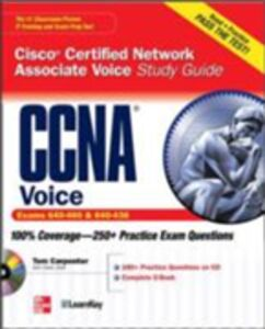 Ebook in inglese CCNA Cisco Certified Network Associate Voice Study Guide (Exams 640-460 & 642-436) Carpenter, Tom