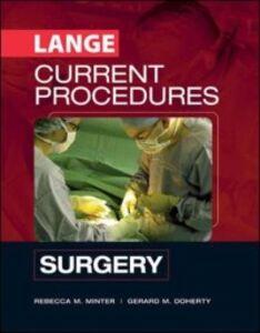 Ebook in inglese CURRENT Procedures Surgery Doherty, Gerard , Minter, Rebecca