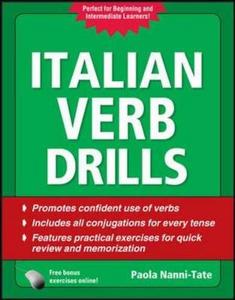 Libro Italian verb drills Paola Nanni Tate