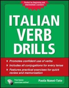 Italian verb drills - Paola Nanni Tate - copertina