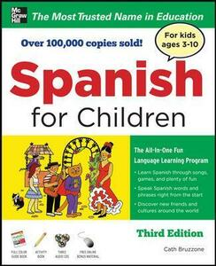 Spanish for Children with Three Audio CDs, Third Edition - Catherine Bruzzone - cover