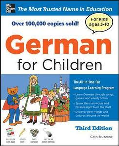 German for Children with Two Audio CDs, Third Edition - Catherine Bruzzone - cover