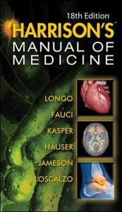 Libro Harrisons manual of medicine
