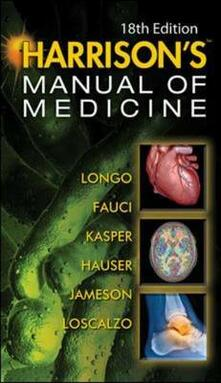 Harrison's manual of medicine - copertina