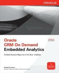 Oracle CRM On Demand Embedded Analytics - Michael D. Lairson - cover