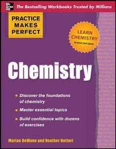 Practice Makes Perfect Chemistry - Marian DeWane,Heather Hattori - cover