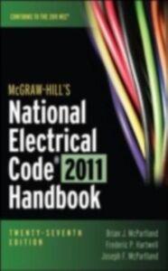 Ebook in inglese McGraw-Hill's National Electrical Code 2011 Handbook Hartwell, Frederic , McPartland, Brian , McPartland, Joseph