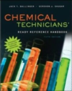 Foto Cover di Chemical Technicians' Ready Reference Handbook, 5th Edition, Ebook inglese di Jack Ballinger,Gershon Shugar, edito da McGraw-Hill Education