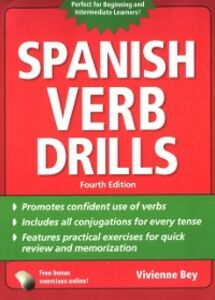 Ebook in inglese Spanish Verb Drills, Fourth Edition Bey, Vivienne