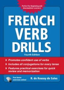 Ebook in inglese French Verb Drills, Fourth Edition Sales, R. de Roussy de