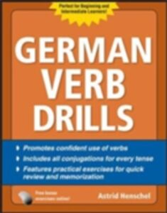Ebook in inglese German Verb Drills, Fourth Edition Henschel, Astrid