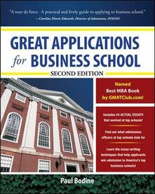 Great applications for business school - Paul Bodine - copertina