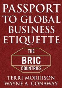 Foto Cover di Passport for Global Business Etiquette, Ebook inglese di Terri Morrison, edito da McGraw-Hill Education