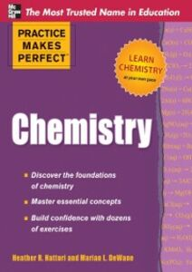 Ebook in inglese Practice Makes Perfect Chemistry DeWane, Marian , Hattori, Heather