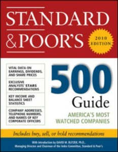 Ebook in inglese Standard & Poor's 500 Guide, 2010 Edition Standard & Poor', tandard & Poor's