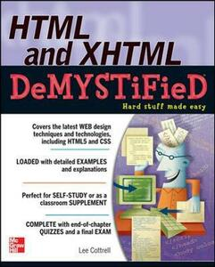 HTML & XHTML DeMYSTiFieD - Lee M. Cottrell - cover