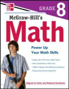 Foto Cover di McGraw-Hill's Math Grade 8, Ebook inglese di McGraw-Hill Education, edito da McGraw-Hill Education
