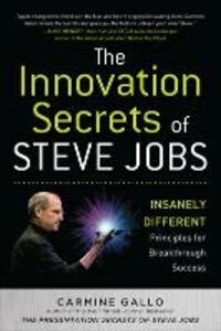 The innovation secrets of Steve Jobs - Carmine Gallo - copertina