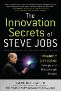 Libro The innovation secrets of Steve Jobs Carmine Gallo