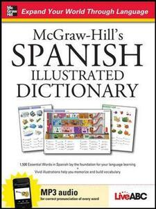 McGraw-Hill's Spanish Illustrated Dictionary - McGraw-Hill Education,Live Abc - cover