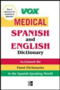 Ebook in inglese Vox Medical Spanish and English Dictionary Vo, ox