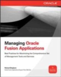 Ebook in inglese Managing Oracle Fusion Applications Bingham, Richard