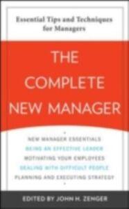 Ebook in inglese Complete New Manager Zenger, John
