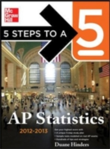 Ebook in inglese 5 Steps to a 5 AP Statistics, 2012-2013 Edition Hinders, Duane C.