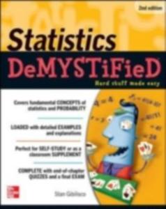 Ebook in inglese Statistics DeMYSTiFieD, 2nd Edition Gibilisco, Stan