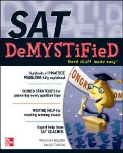 Ebook in inglese SAT DeMYSTiFieD Daniele, Joseph , Mayzler, Alexandra