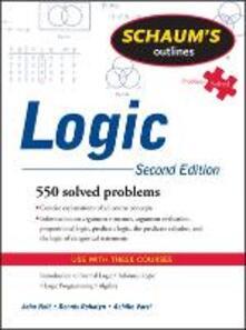 Schaum's outline of logic - John Nolt,Dennis A. Rohatyn,Achille C. Varzi - copertina