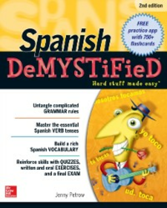 Ebook in inglese Spanish DeMYSTiFieD, Second Edition Petrow, Jenny