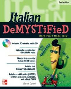 Foto Cover di Italian DeMYSTiFieD, Second Edition, Ebook inglese di Marcel Danesi, edito da McGraw-Hill Education
