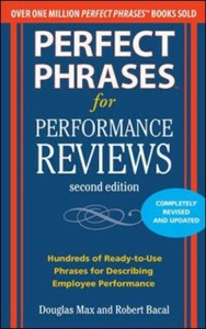 Ebook in inglese Perfect Phrases for Performance Reviews 2/E Bacal, Robert , Max, Douglas
