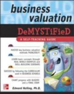 Ebook in inglese Business Valuation Demystified Nelling, Edward