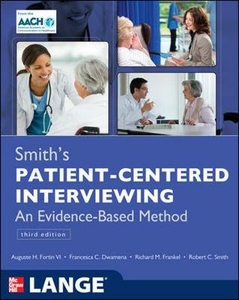 Libro Smith's patient centered interviewing: an evidence-based method
