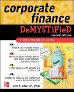 Ebook in inglese Corporate Finance Demystified 2/E Adair, Troy