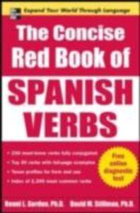 Ebook in inglese Concise Red Book of Spanish Verbs Gordon, Ronni , Stillman, David