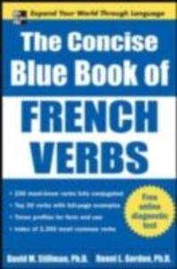 Ebook in inglese Concise Blue Book of French Verbs Gordon, Ronni , Stillman, David