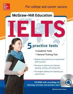 McGraw hill's IELTS. Con CD-ROM - Monica Sorrenson - copertina