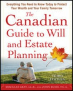Ebook in inglese Canadian Guide to Will and Estate Planning Budd, John , Gray, Douglas