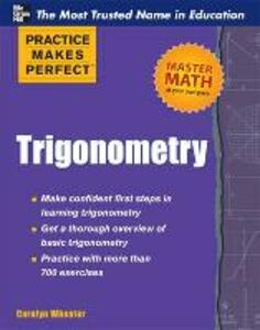 Practice Makes Perfect Trigonometry - Carolyn Wheater - cover